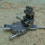Mini-Lathe Dream Cutter showing second adjustable pivot point.